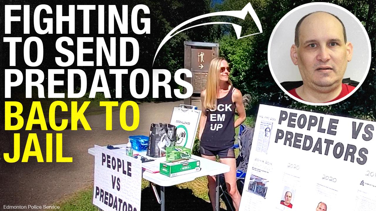 People Vs. Predators: Curtis Poburan released in Edmonton