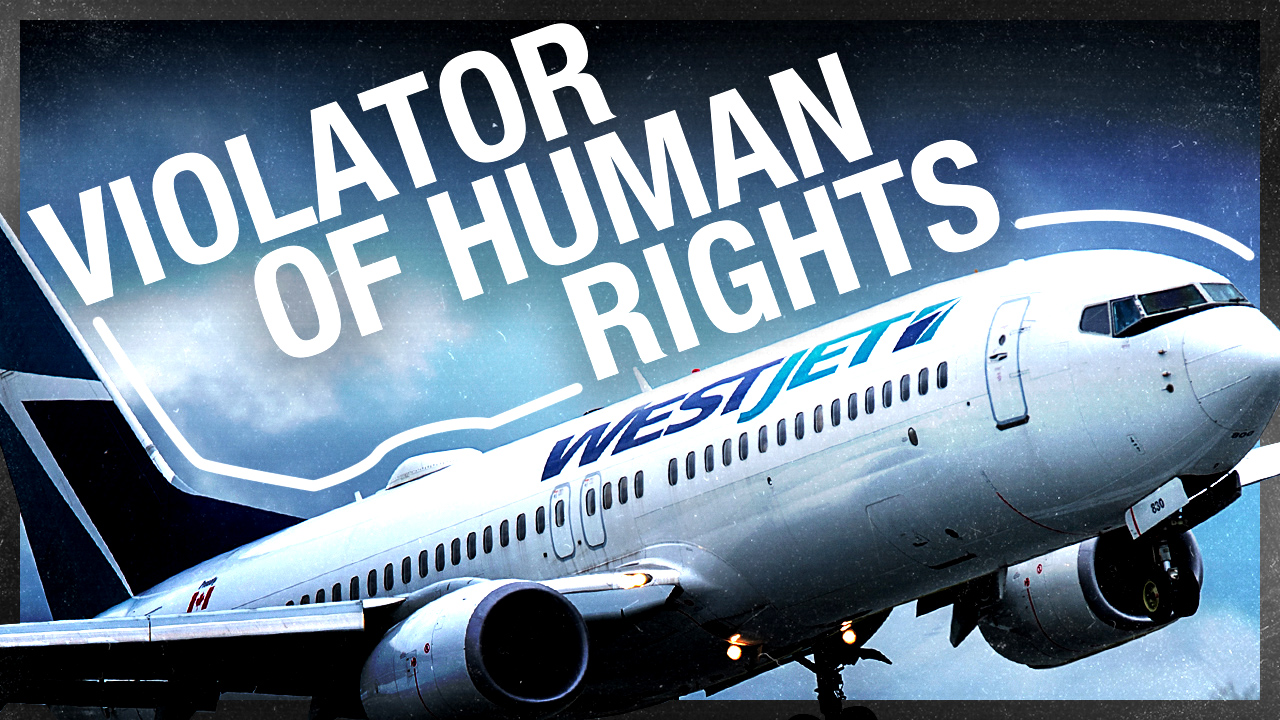 ZERO TOLERANCE: WestJet violates Transport Canada mask laws with new policy | Ezra Levant explains