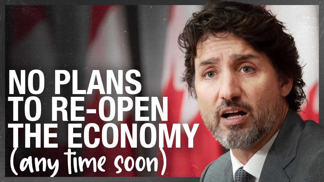 Canadian economy won't have federal re-opening plan until at least Winter 2021