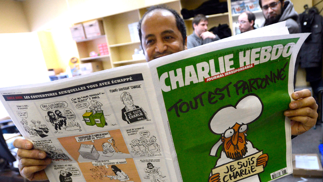 Charlie Hebdo will republish  'Muhammad cartoons' as trial for 2015 massacre begins
