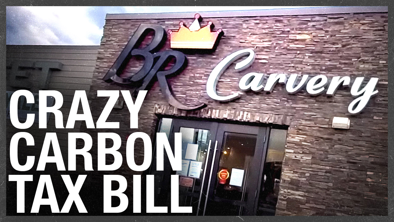 Buffet Royale receives $500 gas bill on closed restaurant — plus Carbon Tax, plus GST!