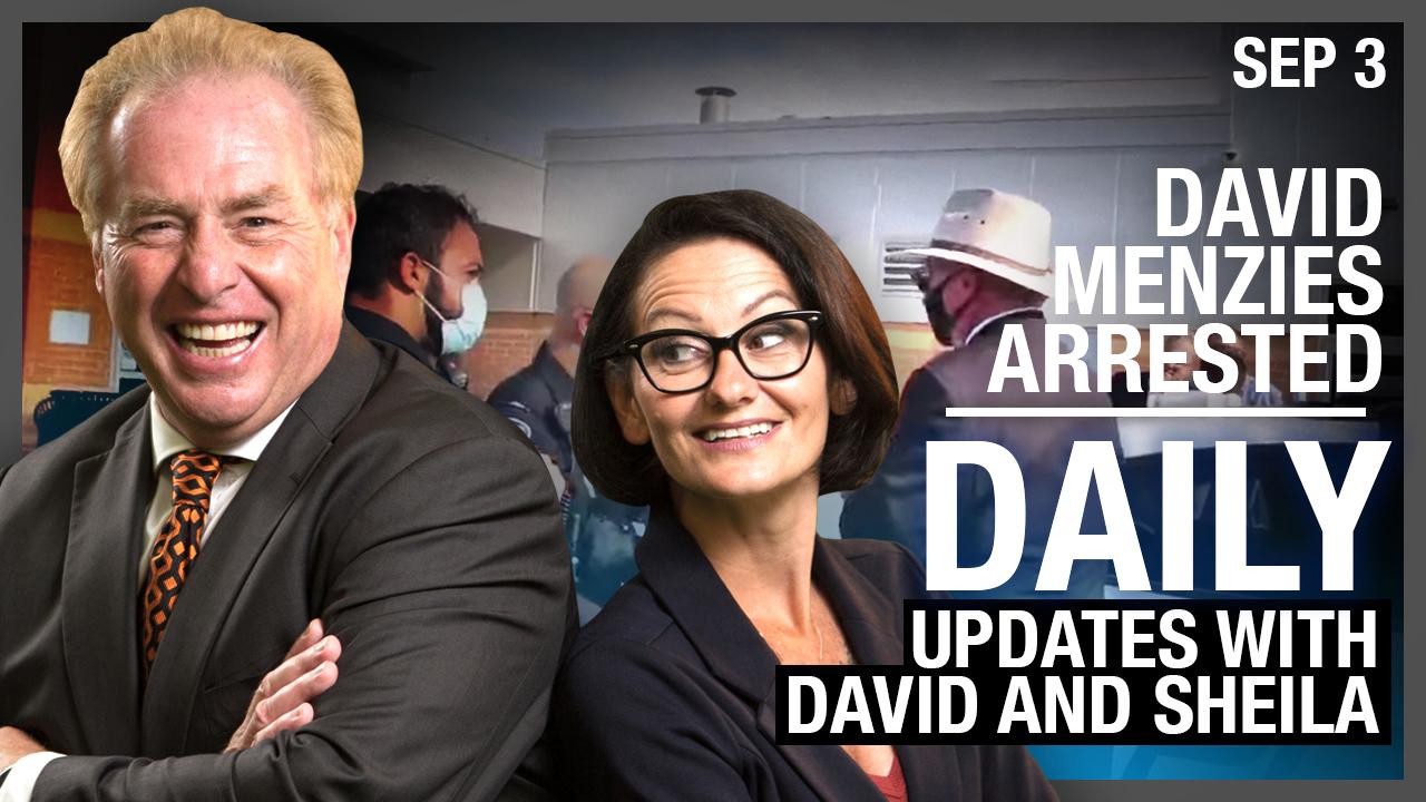 DAILY | David's Arrest #SaveMenzies