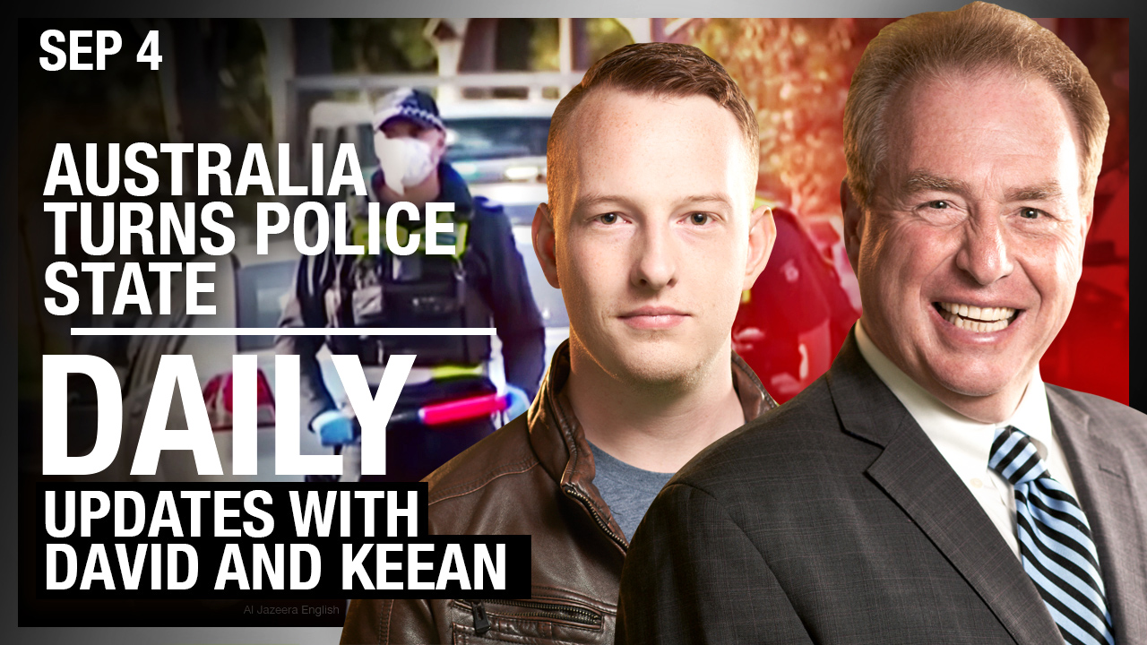DAILY | Australia turns Police State, Calgary Updates with Keean
