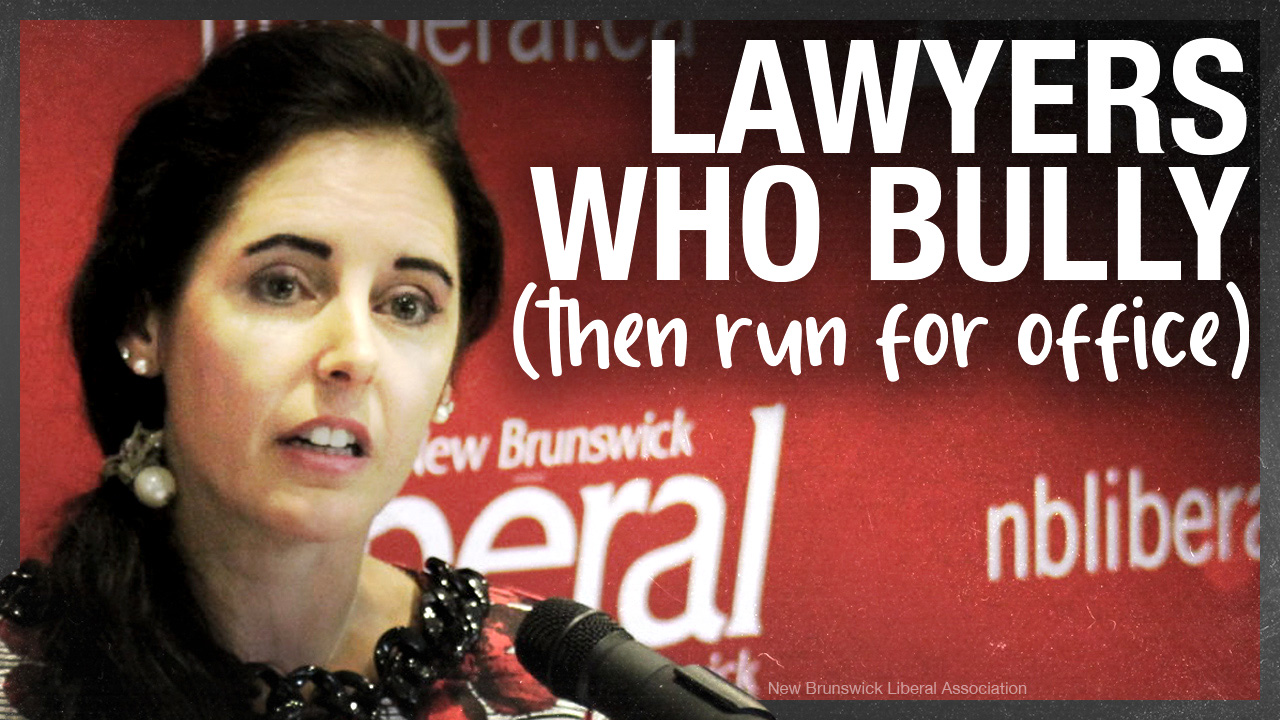 'Fight the Fines' bully lawyer running for Liberals in New Brunswick
