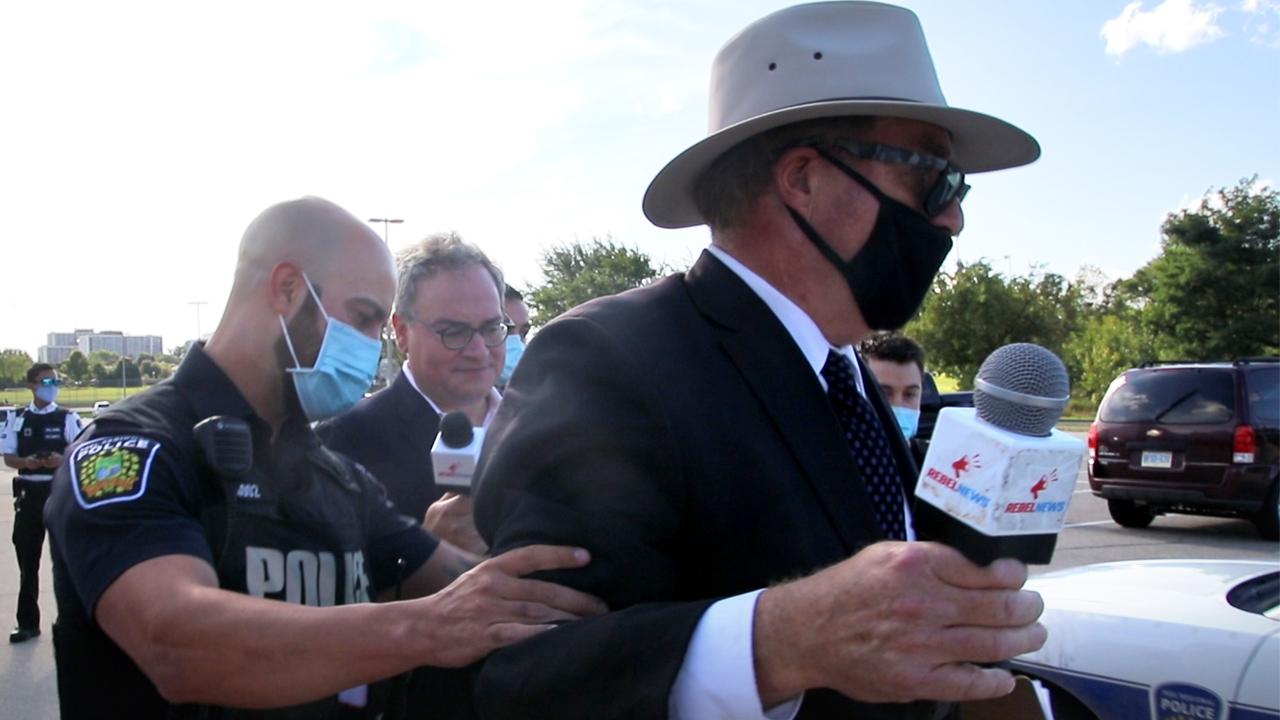 Independent Press Gallery condemns arrest of Rebel News reporter