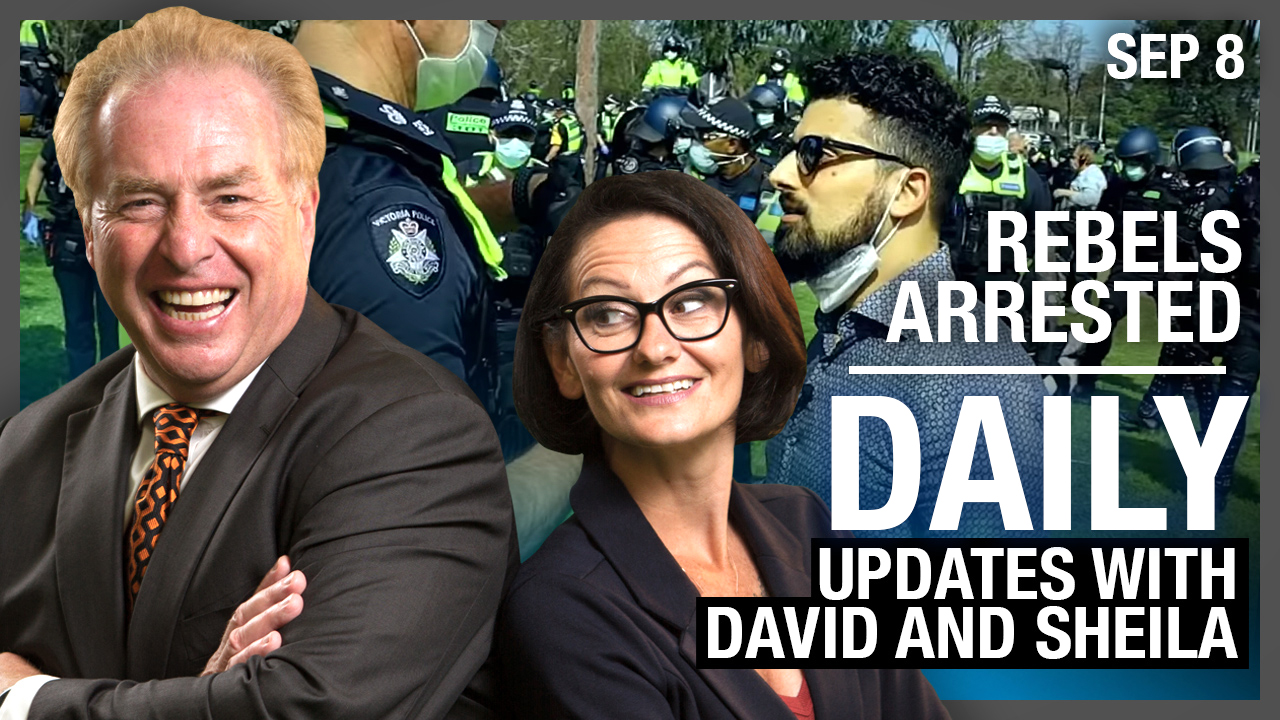 DAILY | Rebels arrested, Drea's human trafficking expose & more