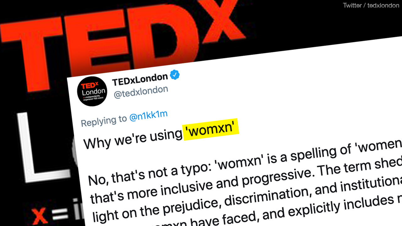 TEDxLondon tries to cancel the word 'women'