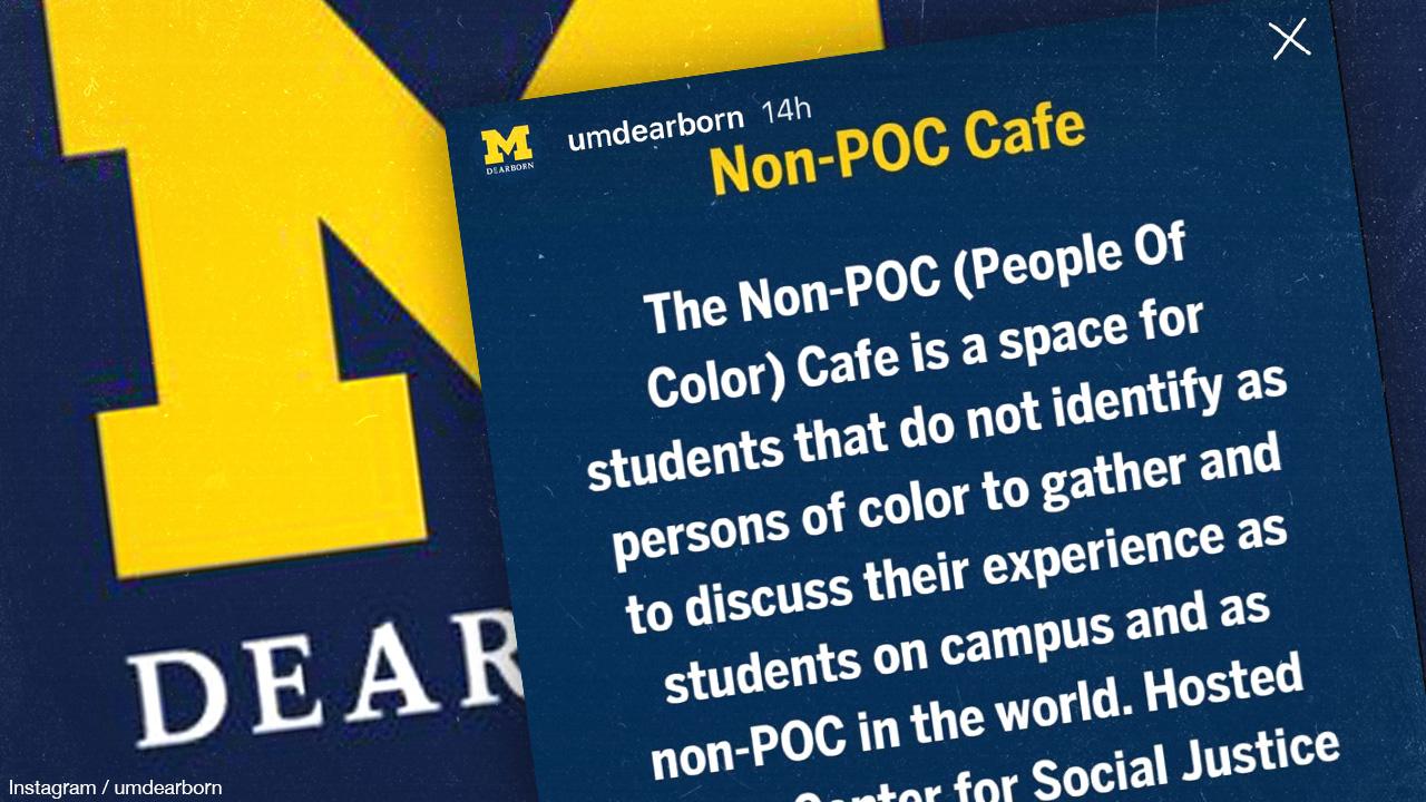 Michigan University creates racially segregated dining spaces