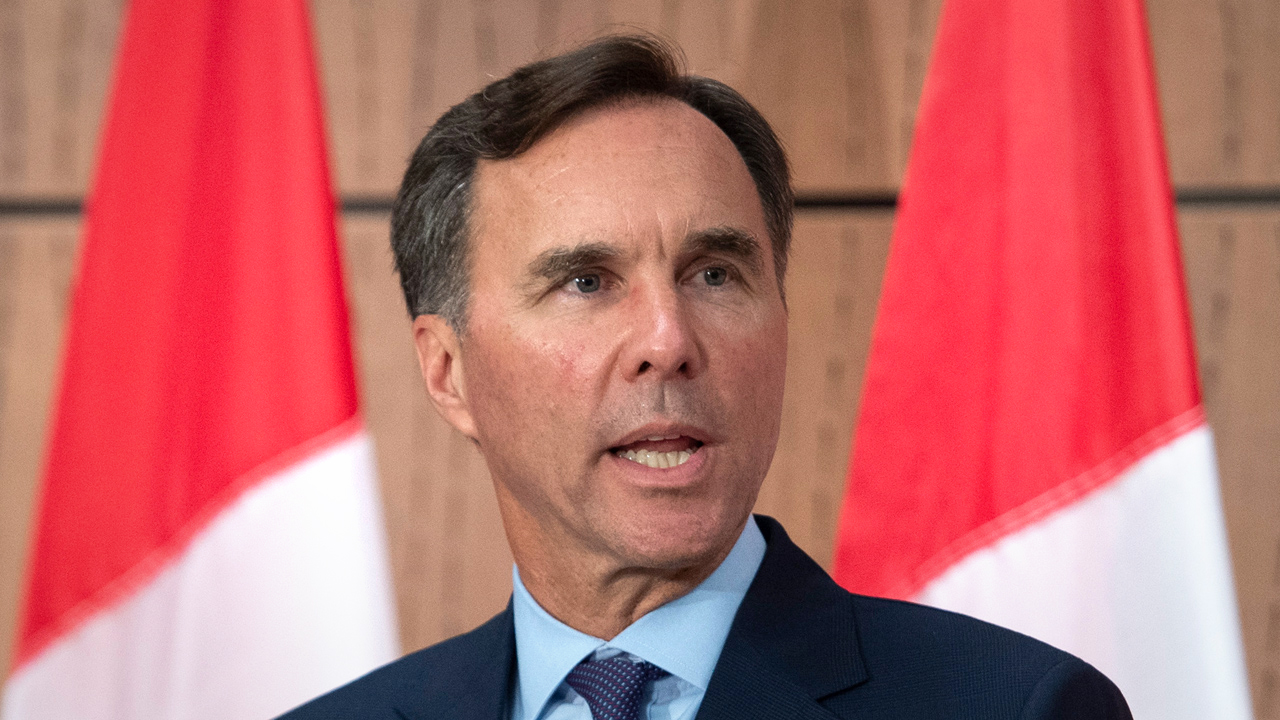 Former finance minister Bill Morneau found guilty of breaking the Elections Act