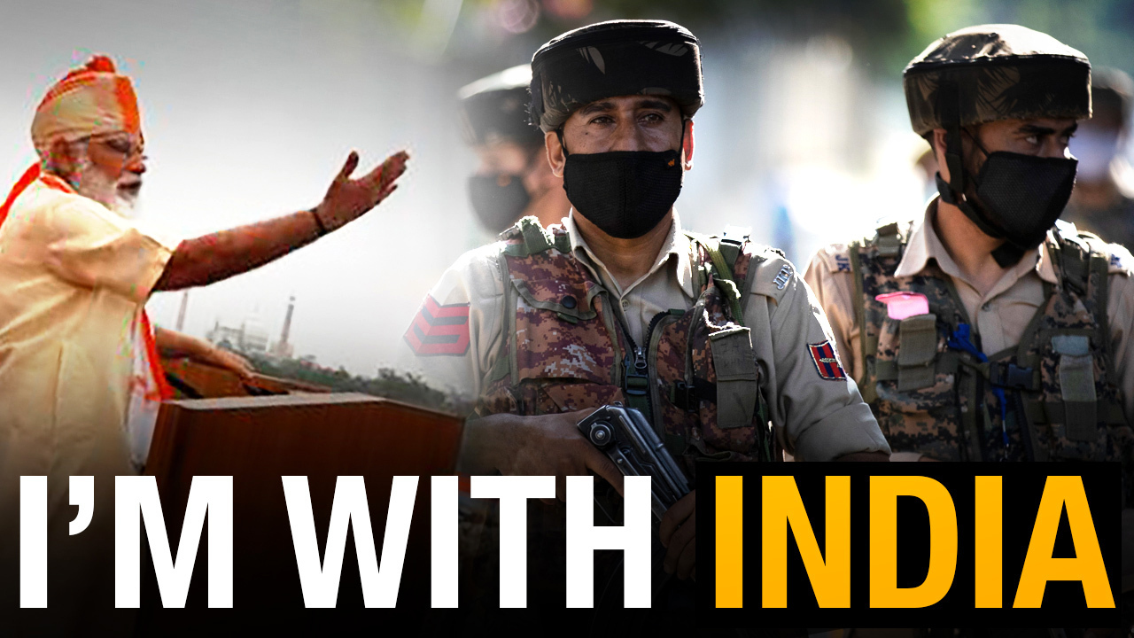 I'm With India: Support the world's largest democracy against Chinese aggression