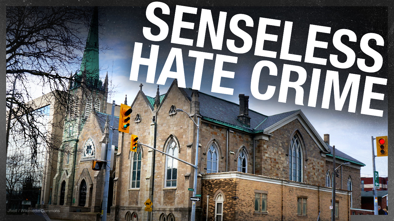 Tabernacle stolen from Ontario cathedral — where's Justin Trudeau's condemnation?