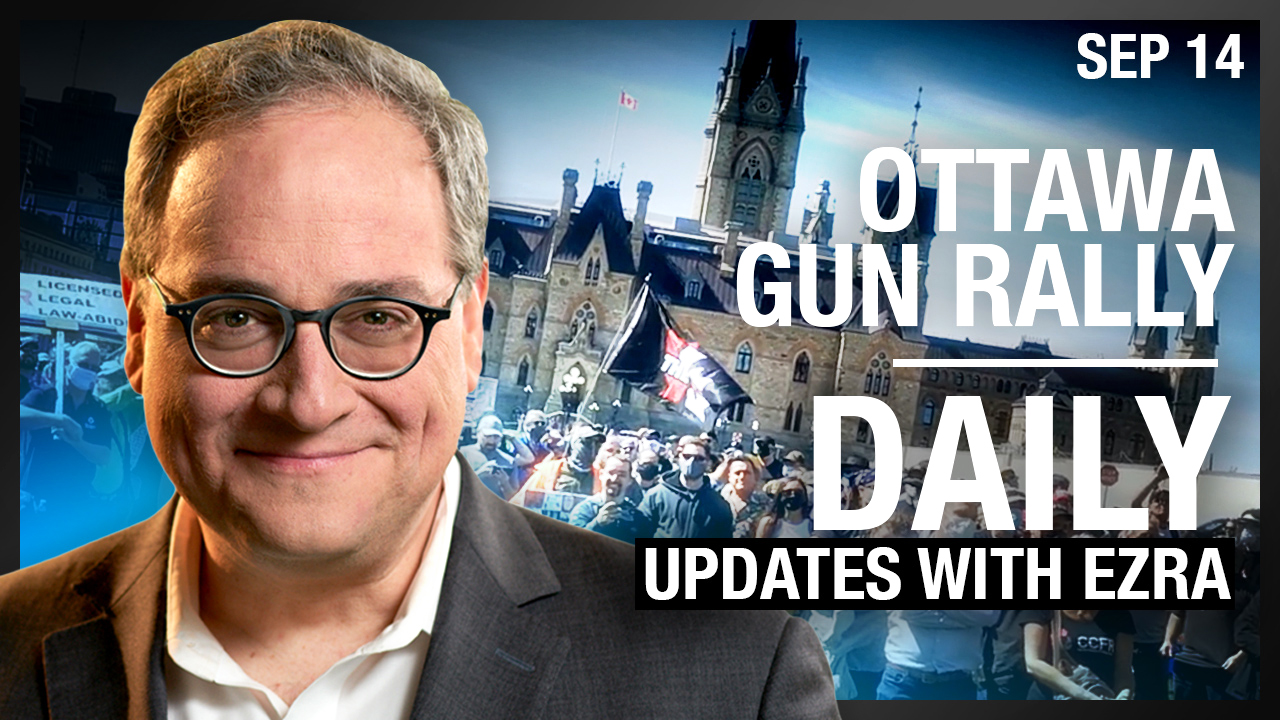 DAILY | UK's new 6 person COVID limit, Avi in Australia, Ottawa Gun Rally