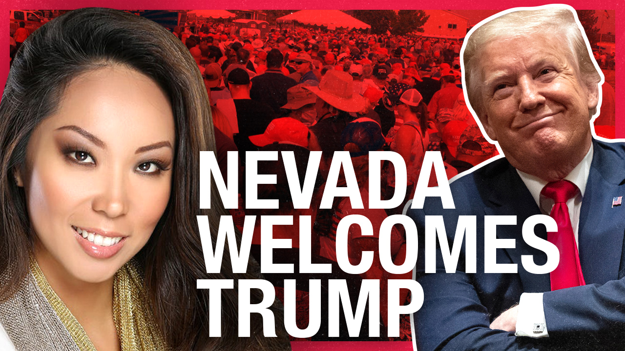 "Trump in Nevada: President holds ""peaceful protest"" for crowd of supporters"