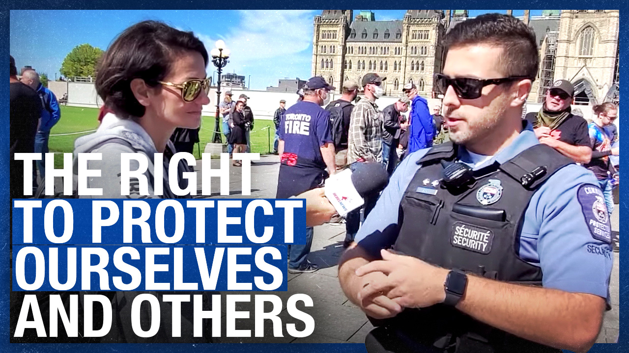 Firearms are defensive tools: Security guard at CCFR's Ottawa Integrity March (Part Three)