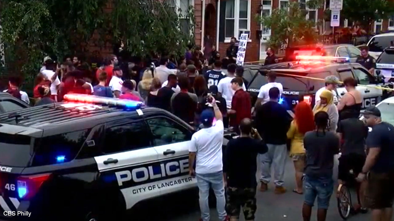 Lancaster, Pennsylvania erupts in riots after Hispanic man dies in police-involved shooting