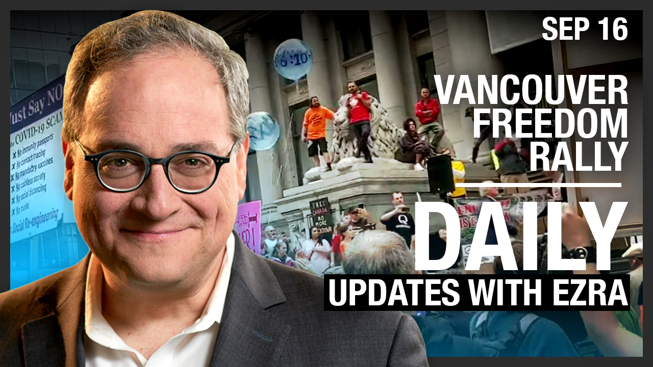 DAILY | Vancouver Freedom Rally: Rebel VS Mainstream Coverage! Trump the Peacemaker