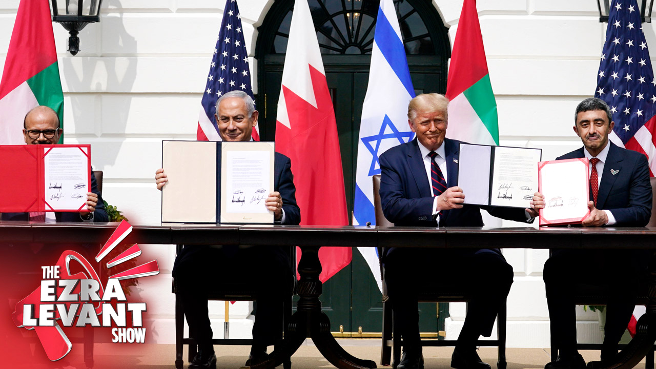 The Israel/UAE/Bahrain peace deal changes everything: Joel Pollak with Ezra Levant