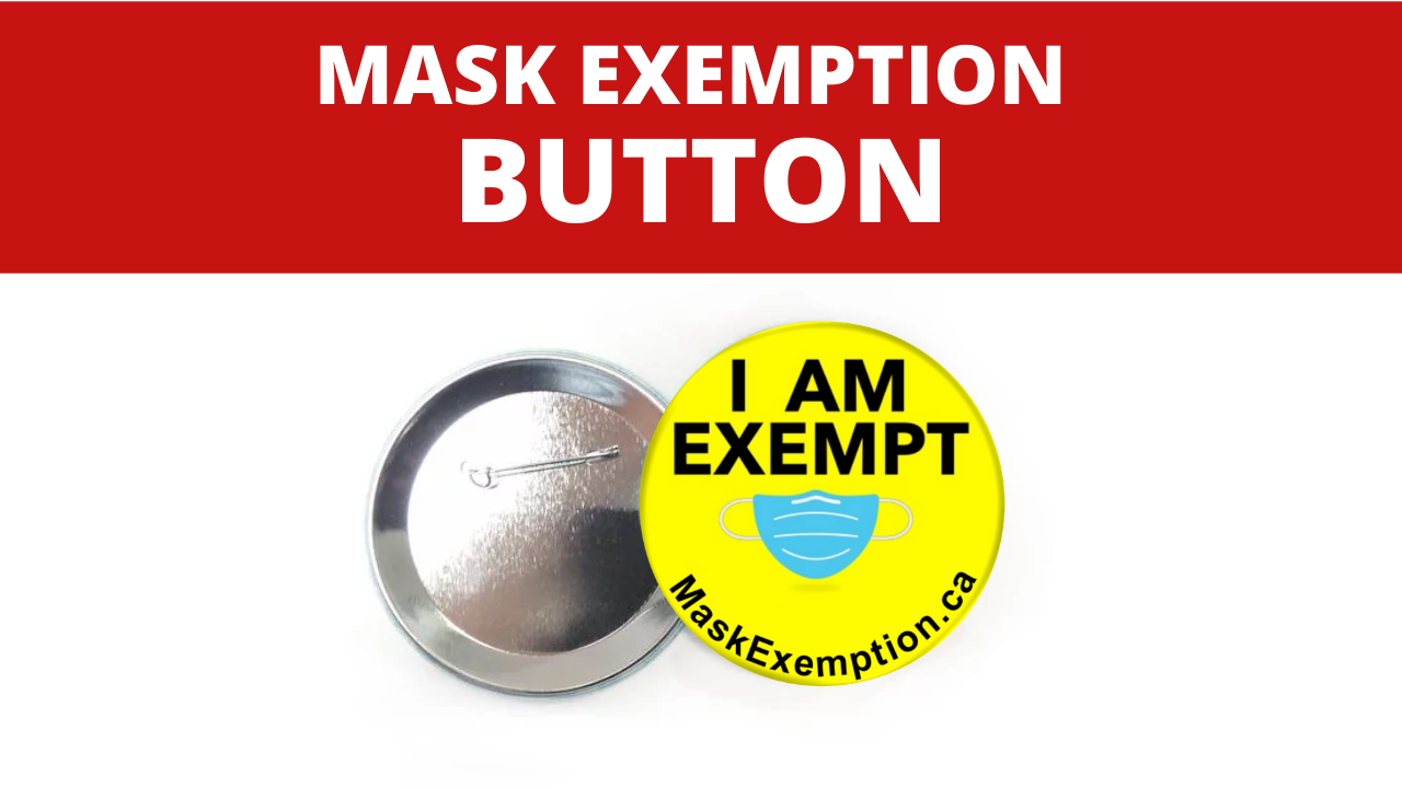Mask Exemption Button