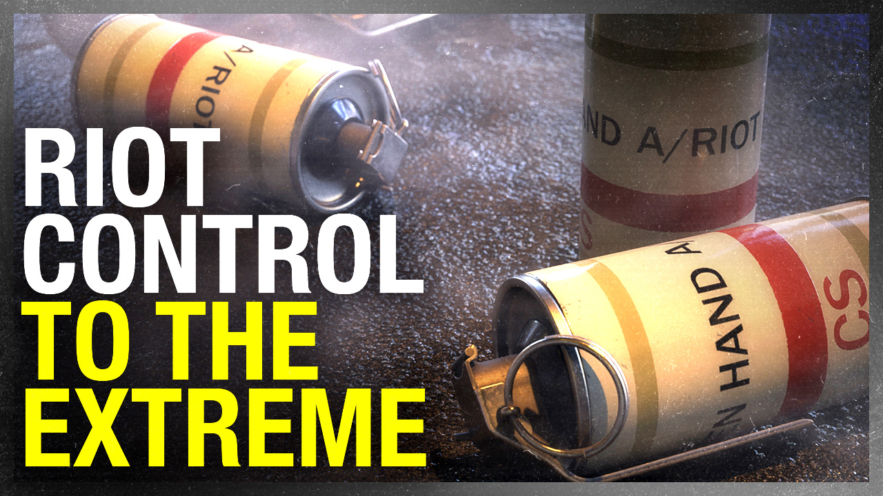 (CORRECTION) EXCLUSIVE: Department of National Defence orders 36,000 units of tear gas