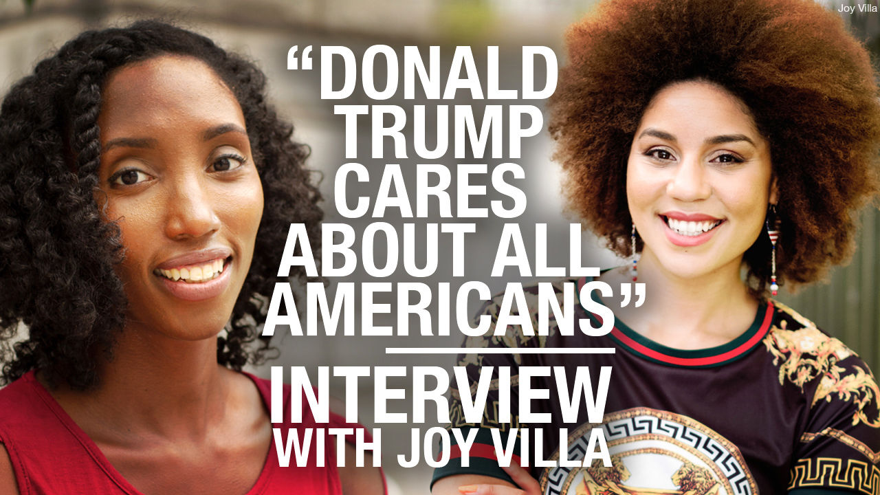 """White Liberals think they own us"": Joy Villa walked away from the left"