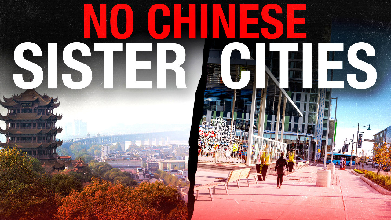 No Chinese Sister Cities Petition