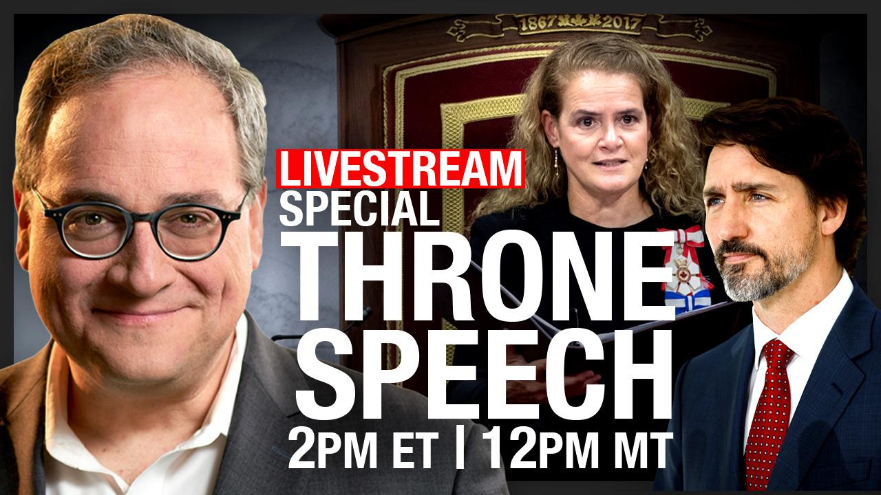 EZRA LIVE! Speech from the Throne