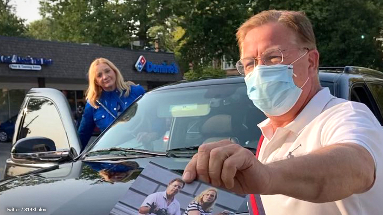 St. Louis' famous home defenders Mark, Patricia McCloskey stalked by activist