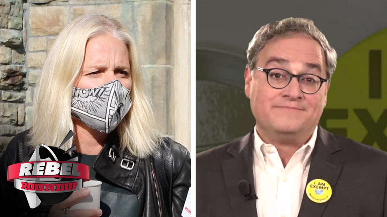 McKenna meltdown, mask exemption buttons and more