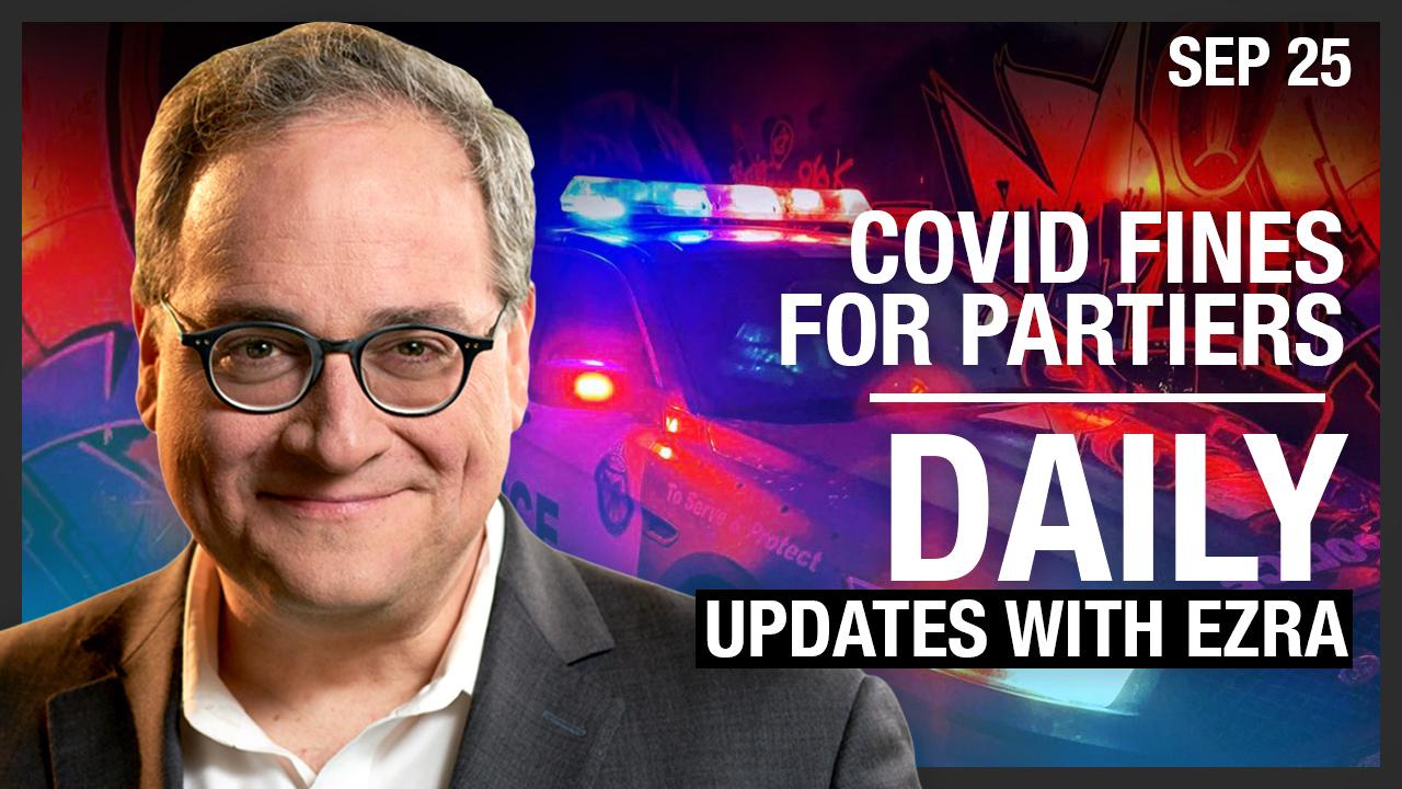 DAILY | $880 COVID fines for partiers, LA Prius attack, the Swedish model