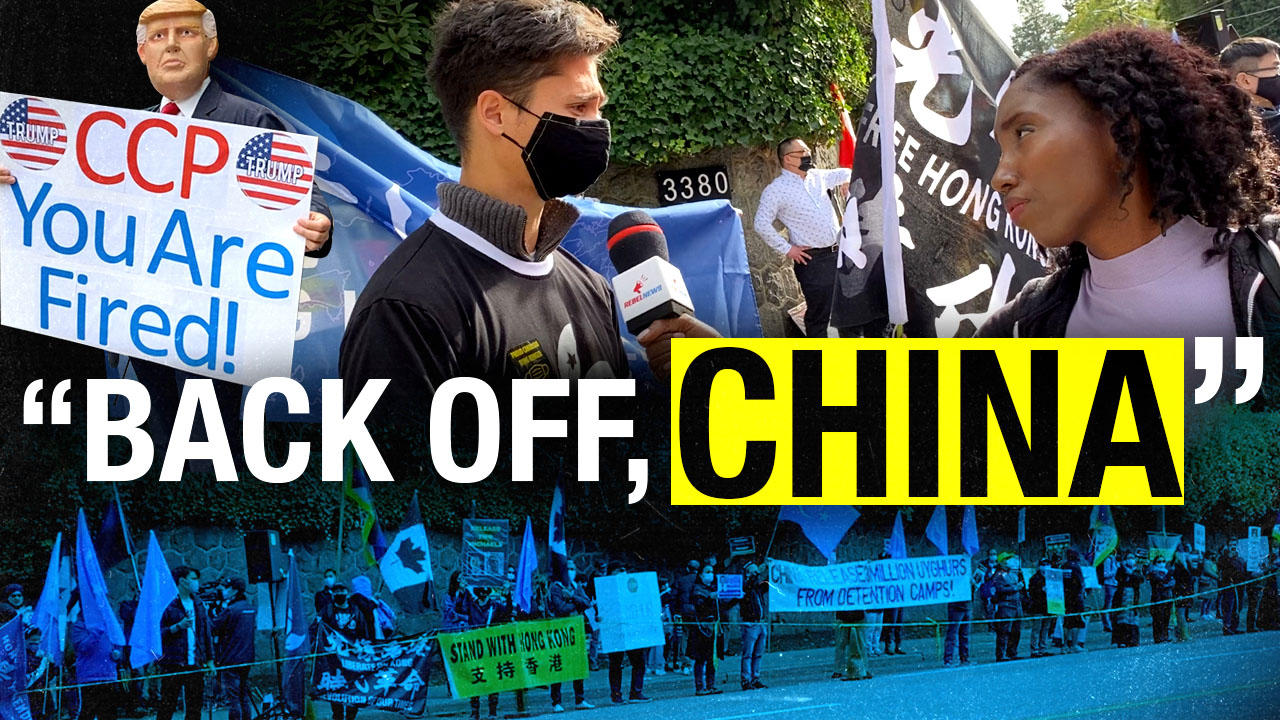 Uighurs, Hong Kong and the Two Michaels: Anti-CCP rally in Vancouver tackles China's human rights abuses