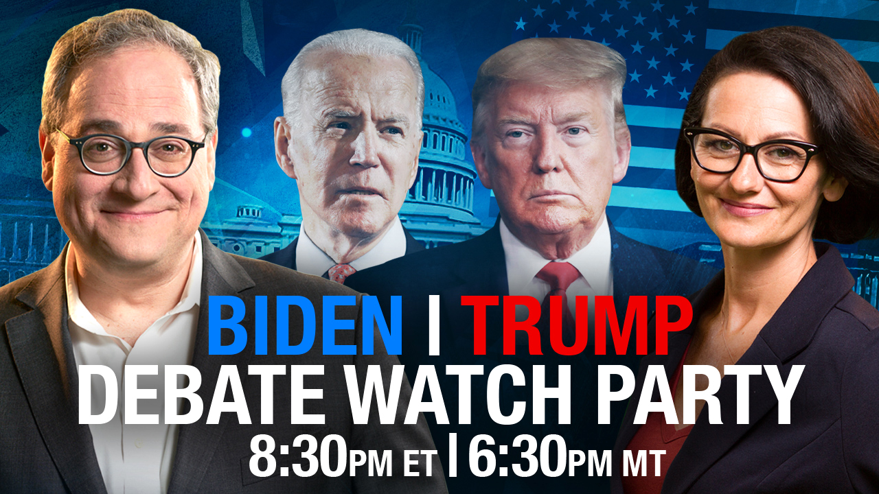 LIVE Presidential Debate Watch Party
