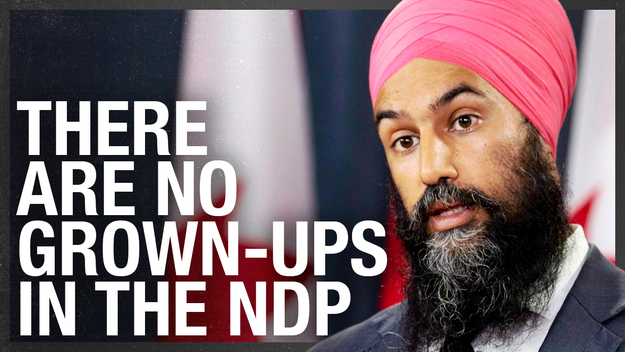 At least former NDP leader Thomas Mulcair acted like an adult