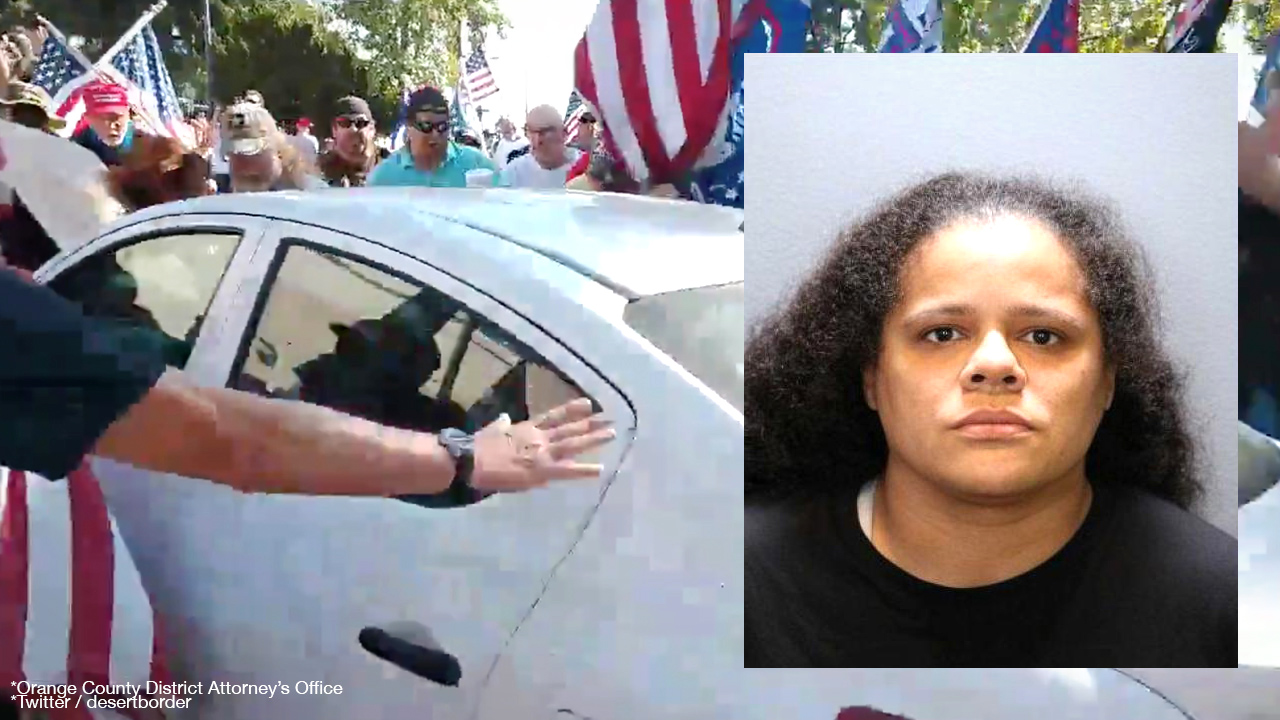BLM organizer blames police inaction for why she drove through crowd of Trump supporters