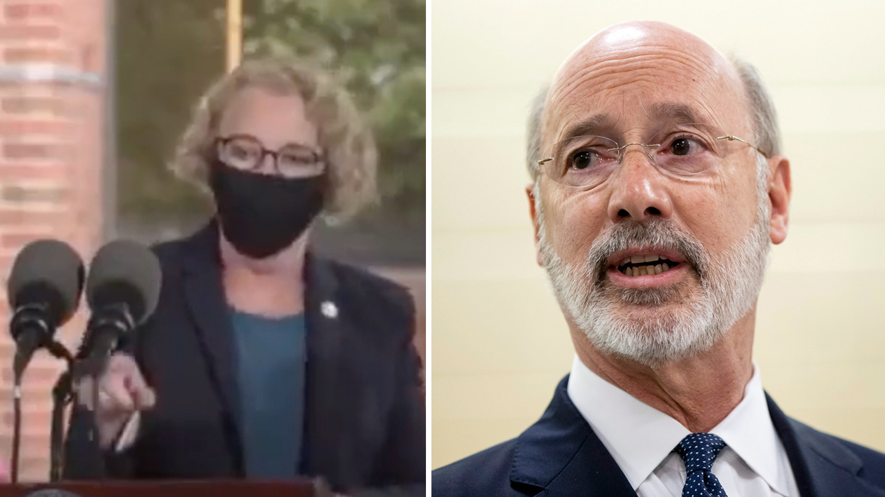 "HOT MIC: Pennsylvania Democratic State Rep. says she's wearing mask on camera for ""political theater"""