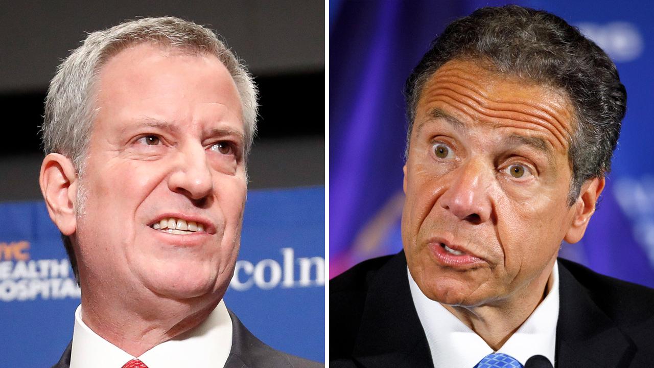 NY Gov. Cuomo threatens NYC Mayor de Blasio over COVID-19 enforcement as outbreak increases