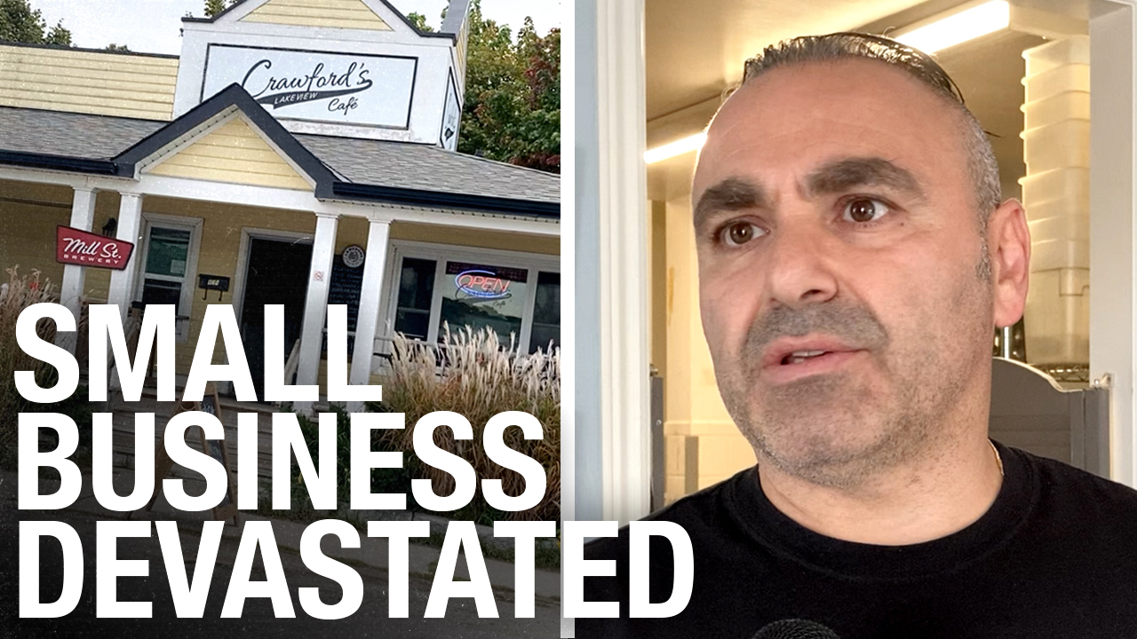 """They don't care if my business shuts down"": Ontario small biz owner speaks out against town council COVID rules"
