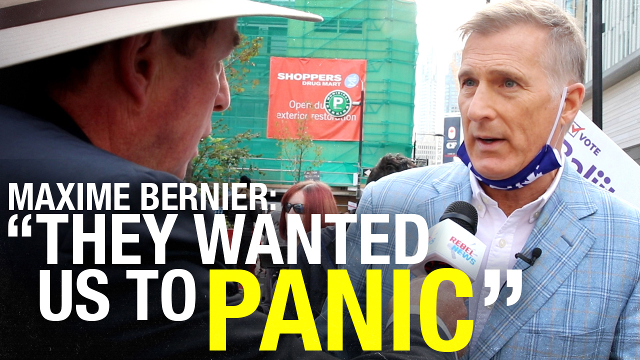 """I'm more worried about my freedom"": PPC leader Maxime Bernier on COVID-19, economy and York Centre by-election"