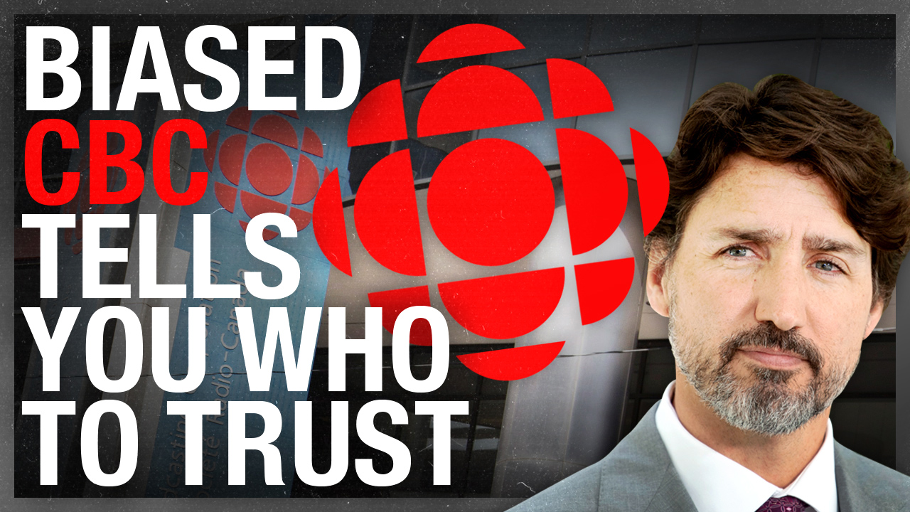 "CBC released a ""trusted sources"" list of media outlets (that take bailout bucks, of course)"