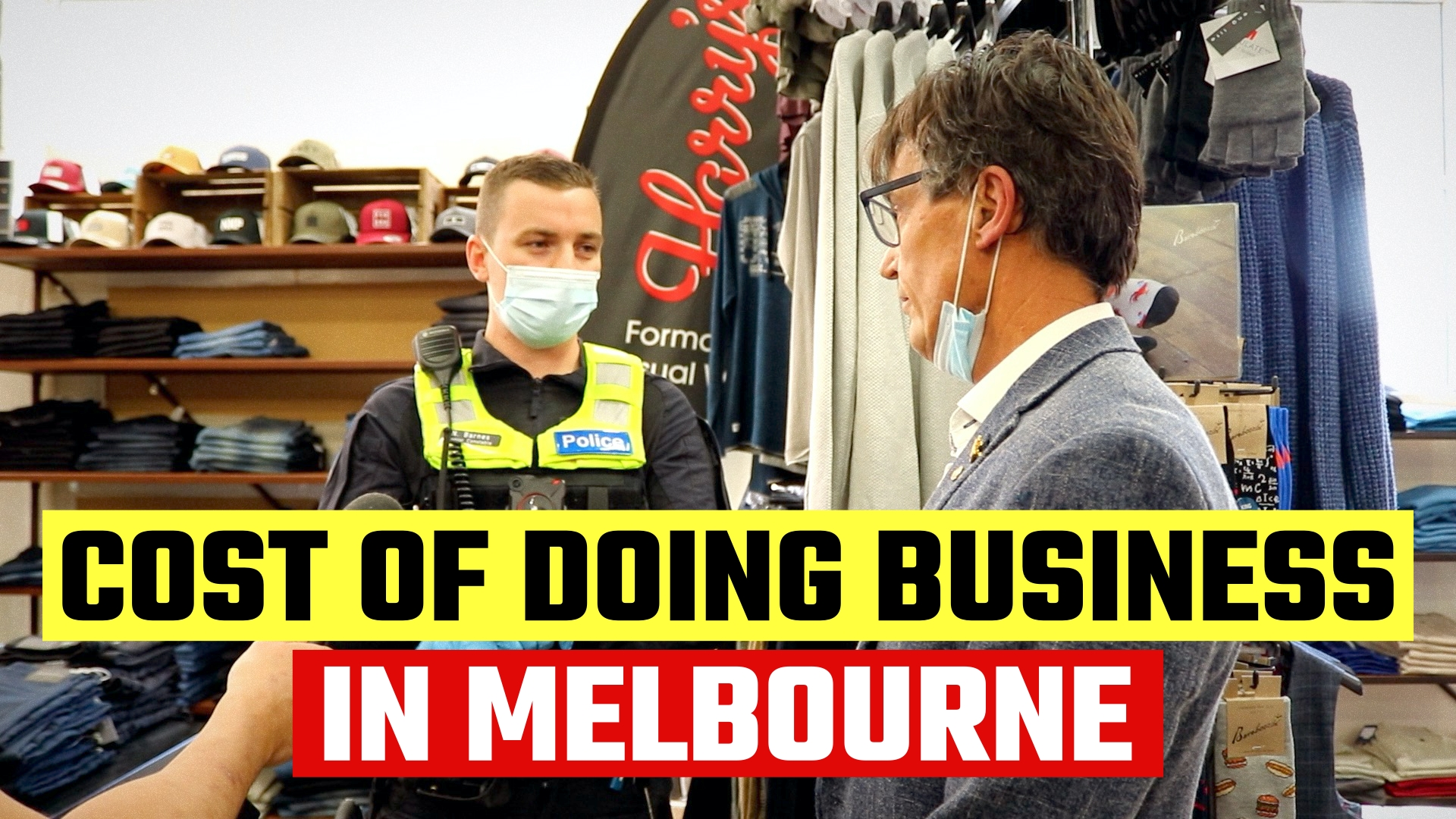 BREAKING: Police threaten shop in Melbourne with MASSIVE fine for defying lockdown