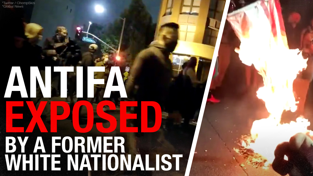 Former White Supremacist & Reformed Antifa Leader Discuss Political Violence