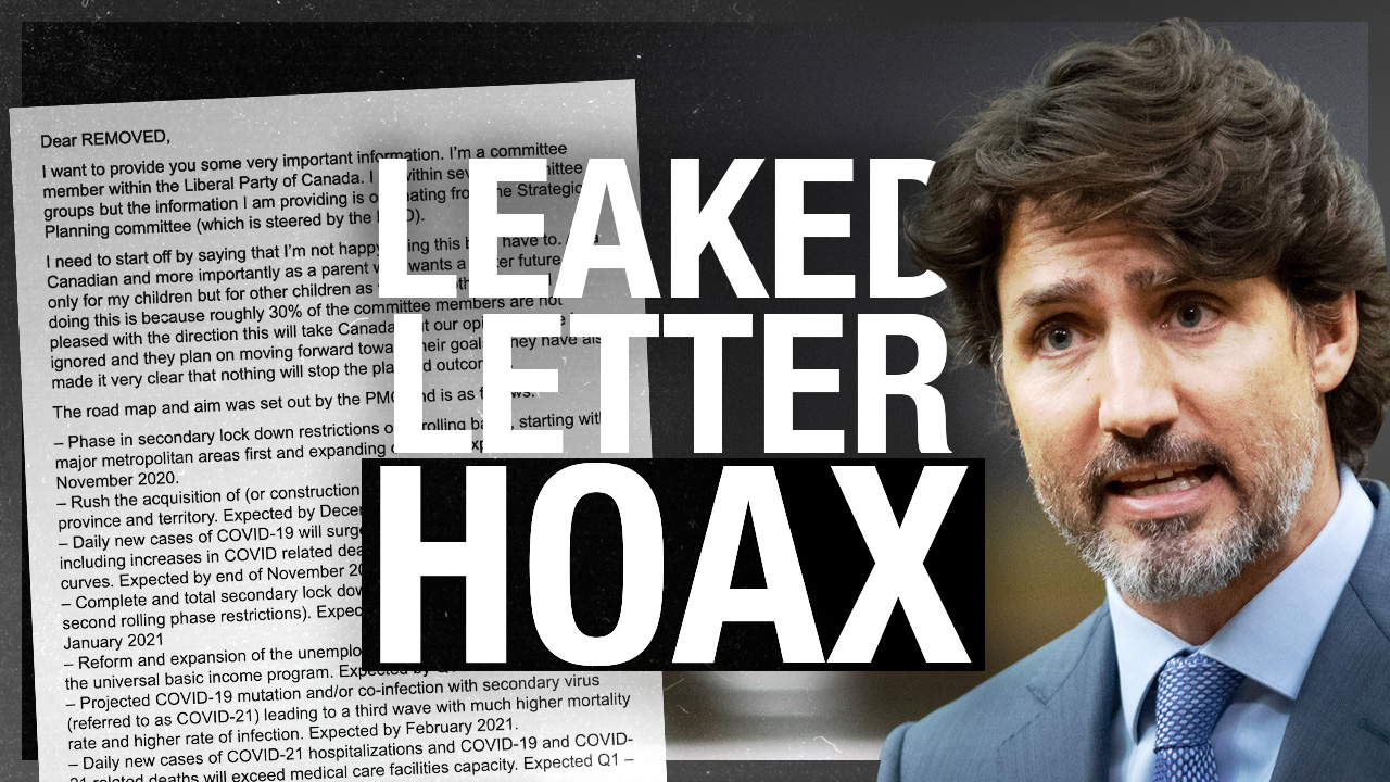 """""""Liberal Party insider leak"""" making rounds online demonstrates lack of trust in institutions"""