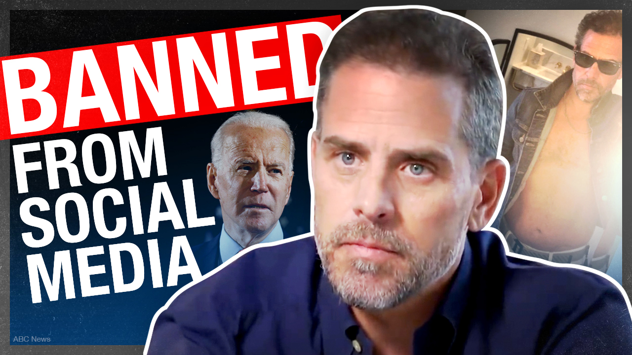 The Hunter Biden story social media doesn't want you to hear