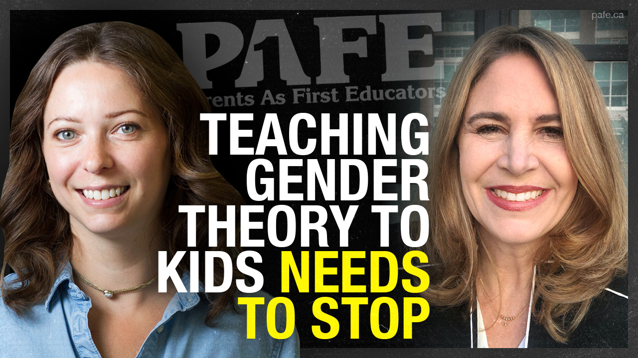 "Teaching six-year-olds ""there's no such thing as a boy or girl"" and other issues with Gender Theory"