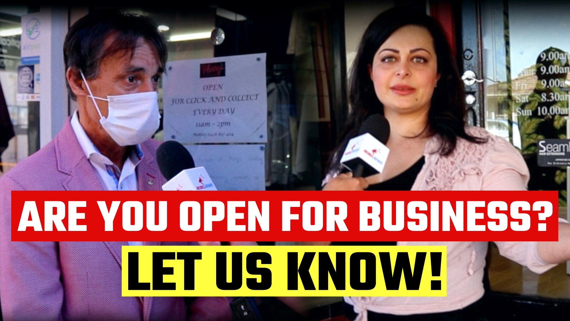 Do you plan to OPEN your business in Victoria without Dan Andrew's permission?