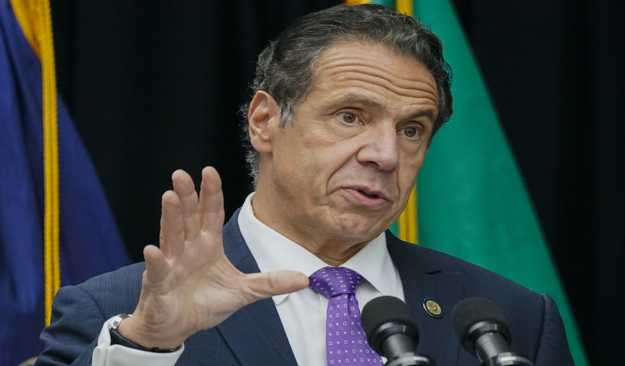NY Governor Cuomo may not trust a FDA-approved vaccine, withhold it from NYers