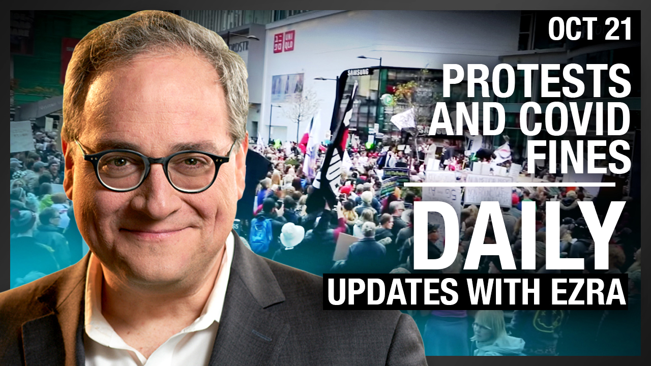 DAILY | Protests and COVID fines in Toronto, NYC