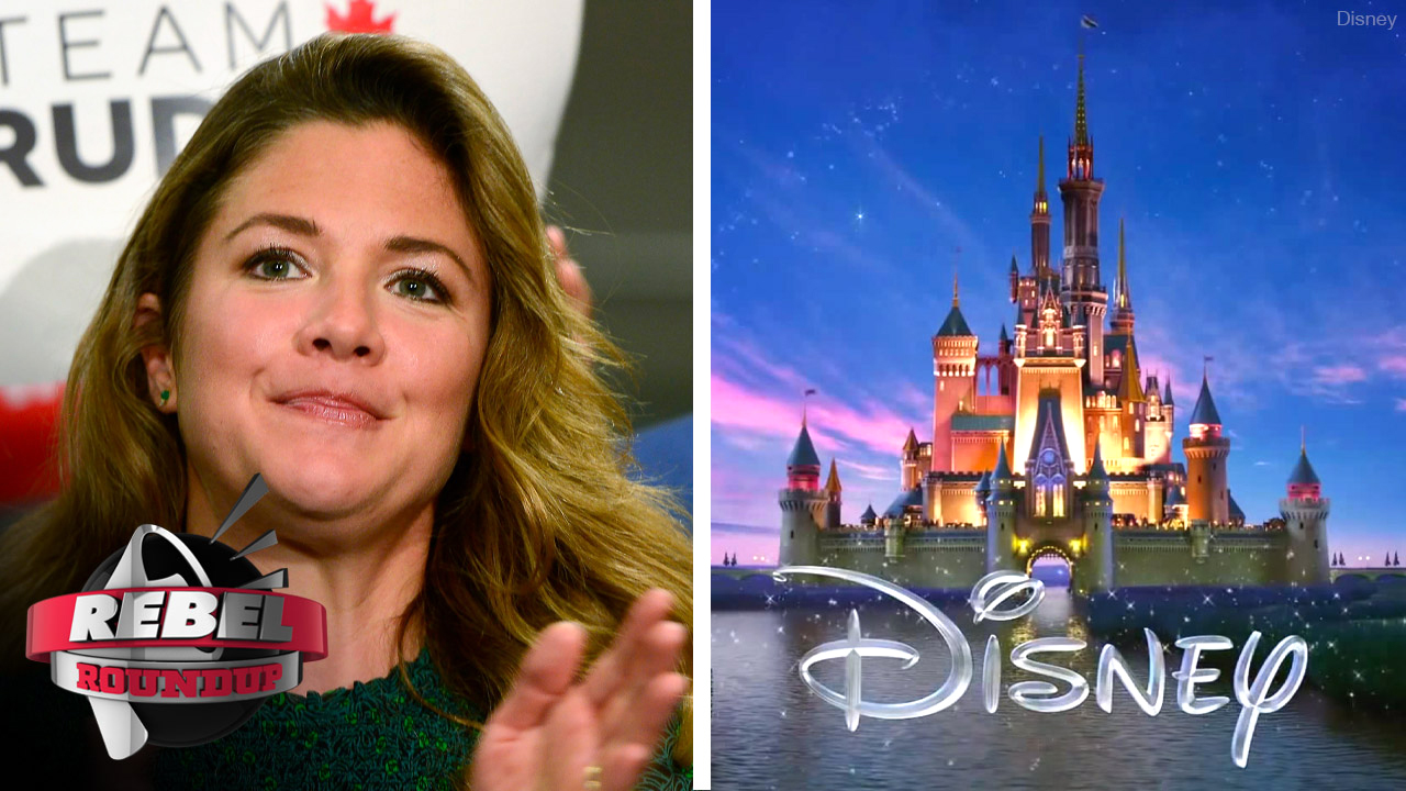 Sophie Trudeau's freebies, Disney does trigger warnings