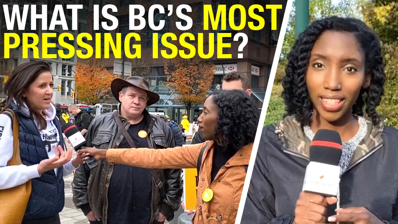 Alternative candidates speak out ahead of B.C. election at Vancouver Freedom Rally