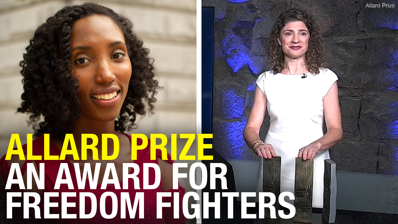 Allard Prize promoting anti-corruption, human rights awarded to slain journalist, bank whistleblower