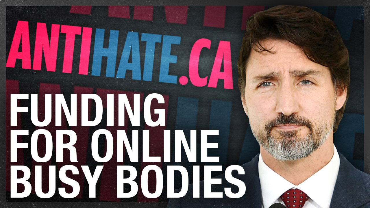 Trudeau now funding Anti-Hate Network, Antifa-linked groups to spy on Canadians